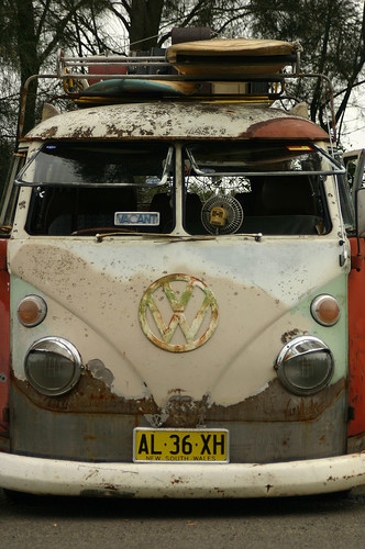 Rat-Look VW Kombi