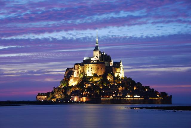 Mont Saint Michel. Capvespre