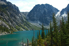 Alpine Lakes - Lake Colchuck (Sweendo) Tags: lakes alpine wilderness colchuck