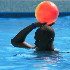 in the pool (claudiaveja) Tags: trip holiday sports water pool photography stock images piscina greece grecia badge claudia concept apa transylvania rodos veja topv200 cluj excursie royaltyfree topf20 albastru blueribbonwinner vacanta rightsmanaged claudiaveja superhearts rightmanaged