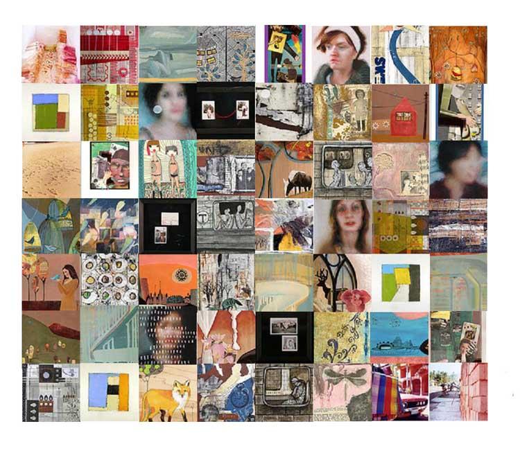 Nahcotta: Enormous Tiny Art Show II - Reception Tonight!