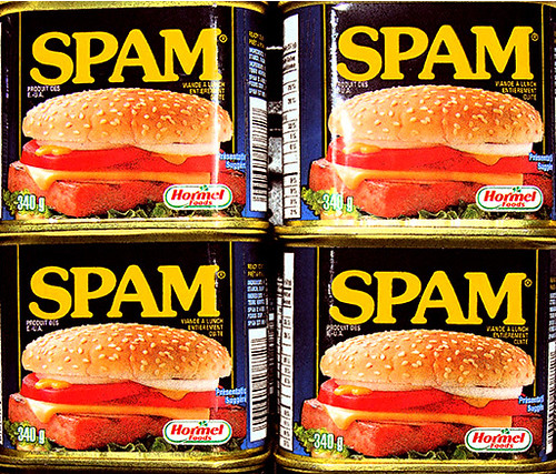 SPAM - Enjoy your meal !