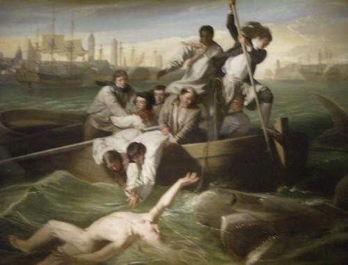 """Watson and the Shark"" by John Singleton Copley (1778)"