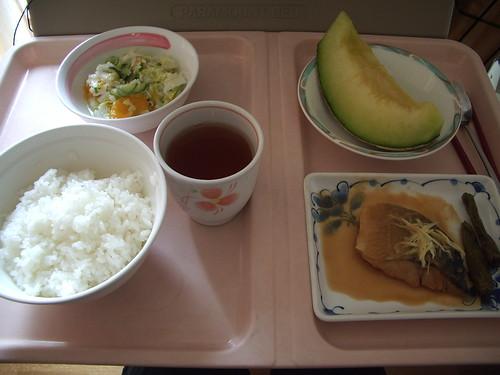 07年9月3日の昼食