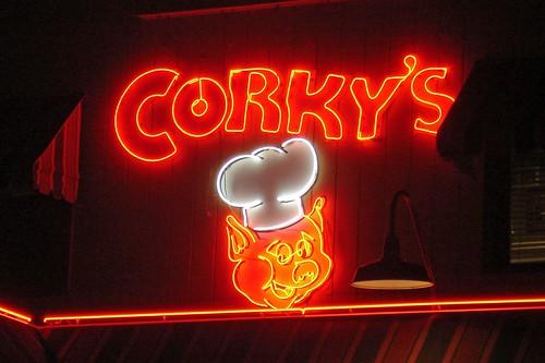 Corkys Sign