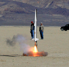 Ignition (Erik Charlton) Tags: nike nv rocket gps tracking stevejurvetson rocketry notmyphoto blackrock polecat gwiz dualdeployment wirelessvideo balls16