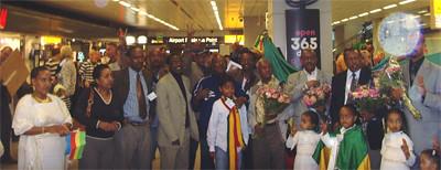 Kinijit Delegation Arrival in The Netherlands