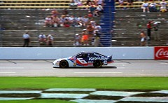 Mark Martin at Charlotte Motor Speedway