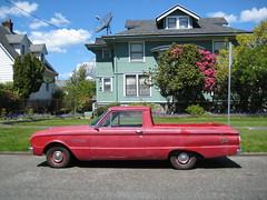 '62 Ranchero down on the street