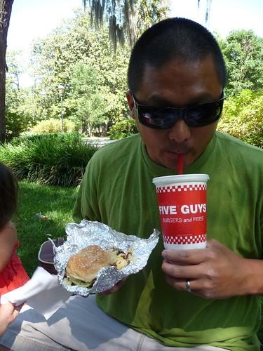 picnic at forsyth park.