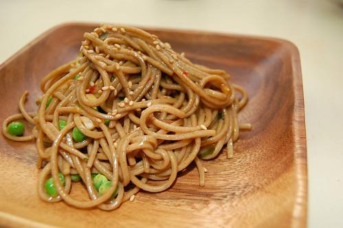 Sesame Chili Soba Noodles