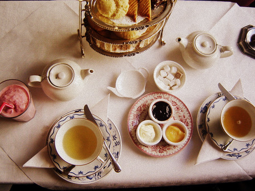 afternoon tea for lunch