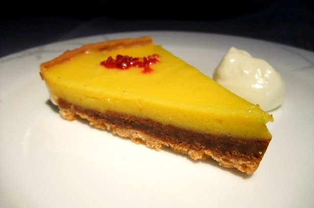 Lemon Tart with Creme Fraiche