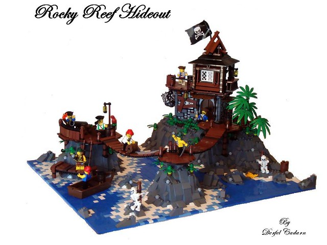A place to hide for pirates!