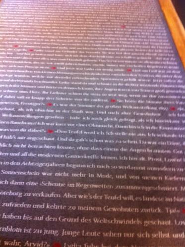 En litterär matta