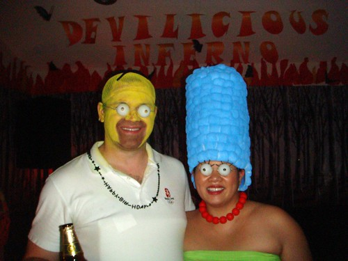 2010 Halloween Costumes The Simpsons  sc 1 st  Happiness and Living Fab! & Happiness and Living Fab!: 2010 Halloween Costumes: The Simpsons