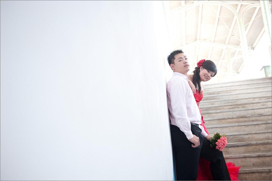 家豪‧冠儀。婚紗