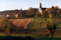 Magyarhertelend - Hungary (.e.e.e.) Tags: autumn film analog hungary village analogue filmscan baranya fujifilmsuperia200 canoneos33 epsonv350photoscanner canonef1885usm