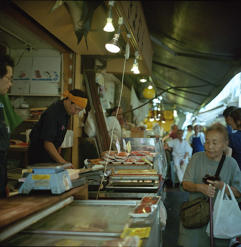 A Scene in Market