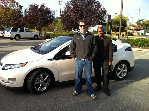 #VoltUnplugged drive @theRab and @WayneSutton arrive in Richmond