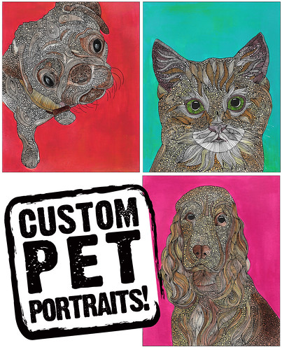Custom Pet Portraits!