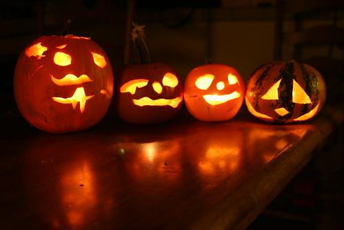 Our Jack-o'-Lanterns