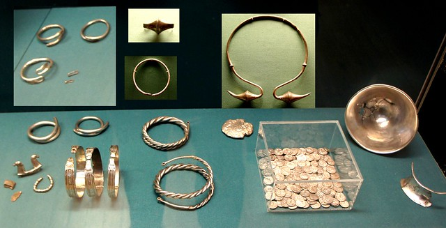 Cordoba Spain silversmith's hoard worked and unworked silver with silver Republican coinage before 100BC