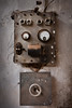 Electro-cute (macropoulos) Tags: texture broken face electric wall topf50 rust 500v20f board 500v50f meter derelict canonef2470mmf28lusm gettyimages anthropomorphism voltage canoneos5d 30faves30comments300views 50faves50comments500views gettyimages:date_added=20120125