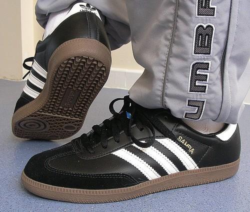 gum samba with adidas soles