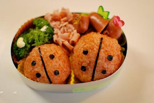 lunch box - ladybug