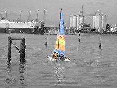 Southampton Water ~ Cut Out (Chalkie_CC) Tags: sea england water fuji yacht southampton coolest hythe pspro flickrsbest impressedbeauty chalkiecc flickrphotoaward onlythebestare