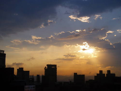 西門町夕陽