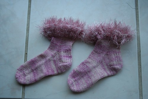 Boo's Sparkly Socks