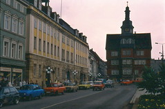 DOWNTOWN EISENACH GDR - by phillygdr
