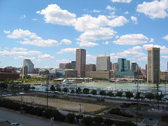 Northwest view of Inner Harbor from Federal Hill