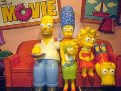 The Simpsons are waiting for you!