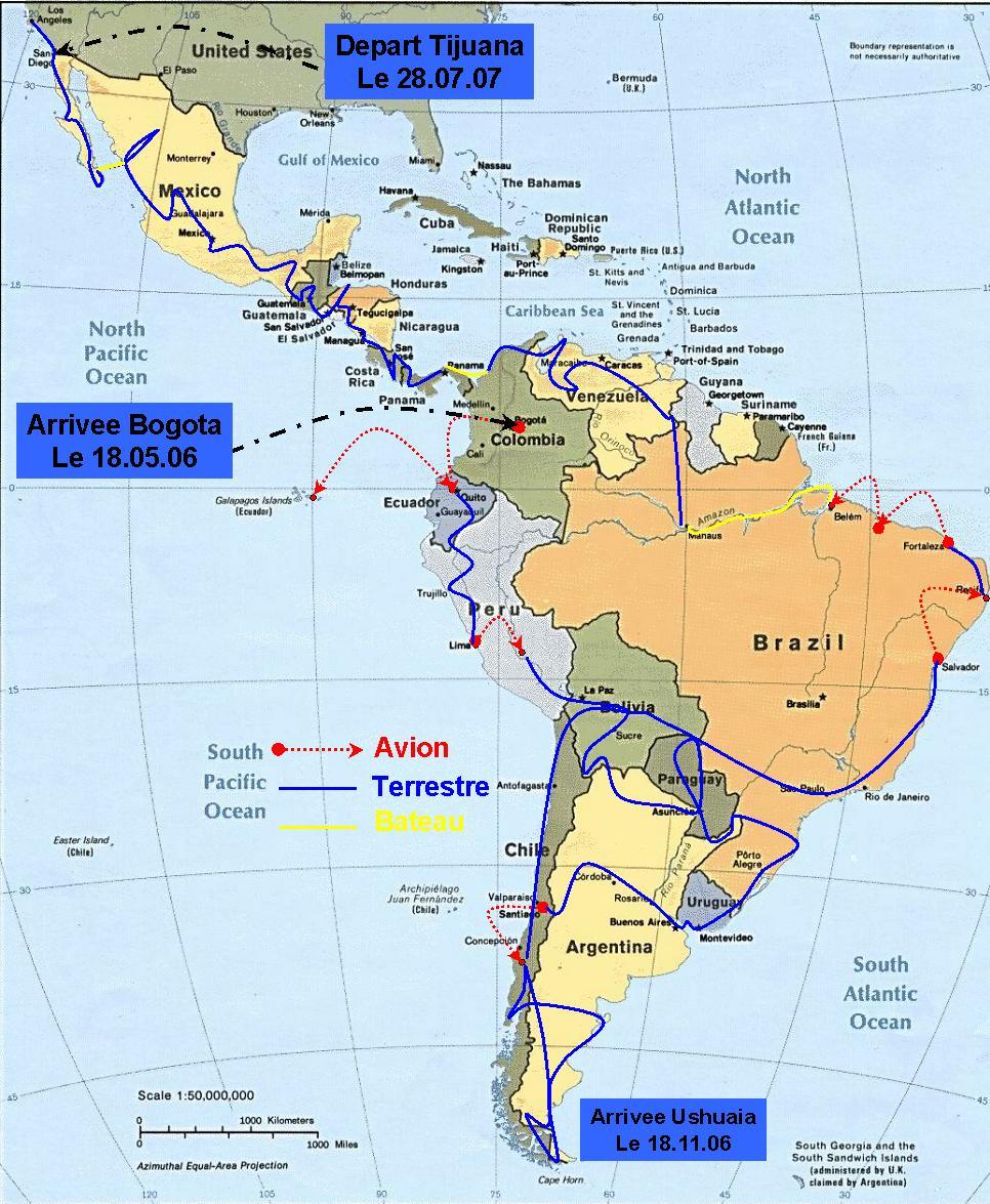 Amerique Latin 94