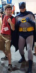 He's Batman.