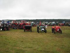 Traktoraufstellung