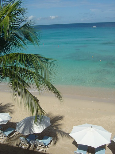 Fairmont Royal Pavilion Hotel Barbados (view from room 336)