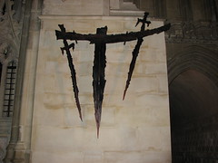this cross marks the spot of Thomas Becket's murder