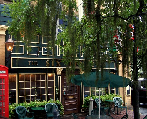 The Six Pence Pub in Savannah
