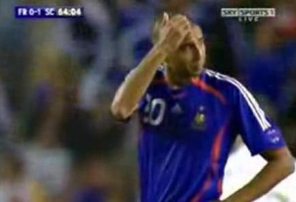 Trezeguet Crying