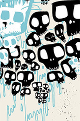 Skull iphone wallpaper. cool design for iphone