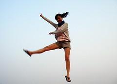 小綠 jump