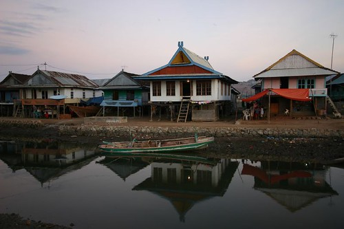 Sape village. Eastern Sumbawa.