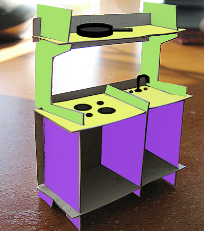 Toy Kitchen (color prototype)