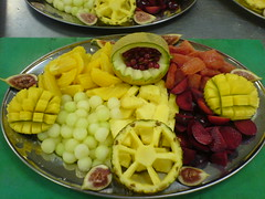 Fruits (tapenade) Tags: food orange fruits berry fig plum carving eat pineapple mango 100views melon 100view