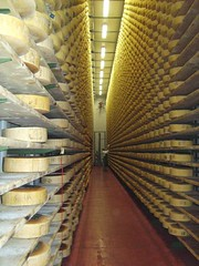 A veritable hall of cheese. (Food Philosophy) Tags: venice italy asiago altoadige speck chefmark foodphilosophy jenniferiannolo culinarypodcastnetwork gildedfork