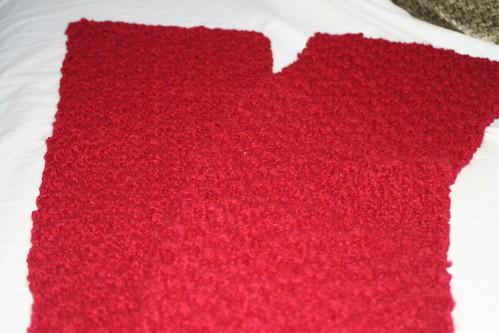 Moss Stitch Scarf - Cascade Bulky Leisure